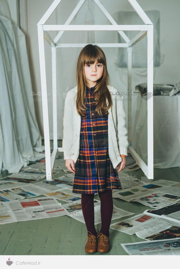 مدل لباس دخترانه زمستانه PAADE