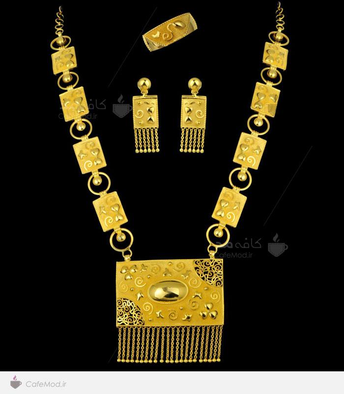مدل ست طلای زرد