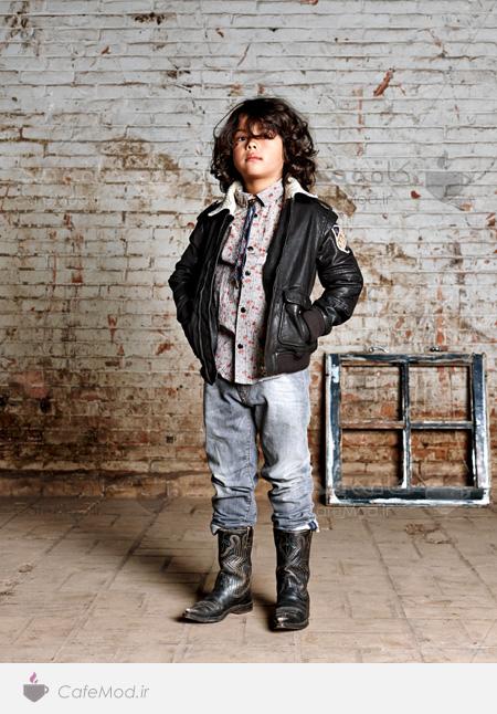 مدل لباس پسرانه Vintage