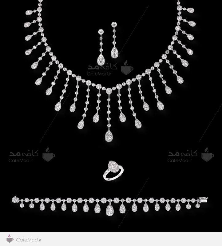 مدل ست جواهرات عروس 2015
