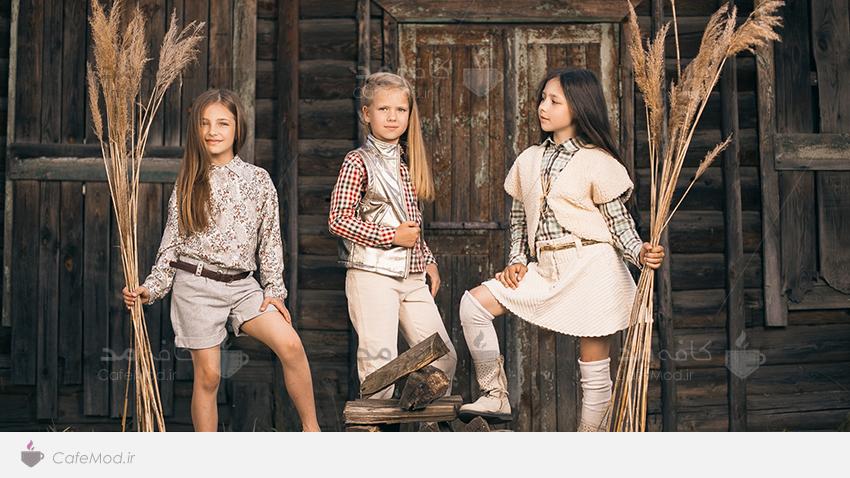 مدل لباس دخترانه پسرانه YUME