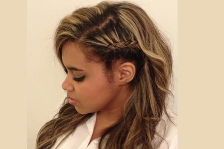 آموزش بافت موی دخترانه ساده 2