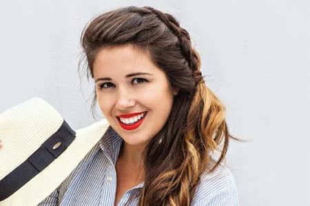 آموزش بافت موی ساده دخترانه