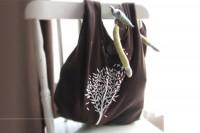 آموزش دوخت کیف با تیشرت