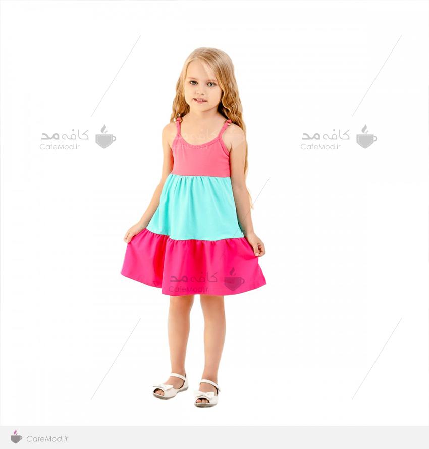 ست دامن بلوز کافه مد | مدل لباس مجلسی دخترانه Vikki-Nikki