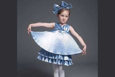 مدل لباس پاییزه دخترانه Hucklebones 1