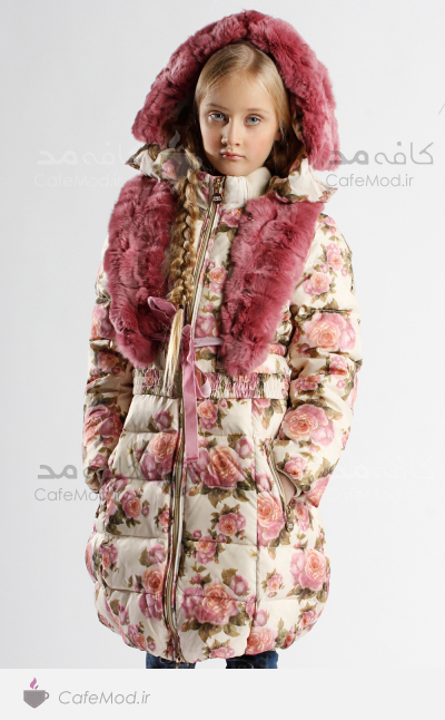 مدل پالتوی زمستانه دخترانه BK