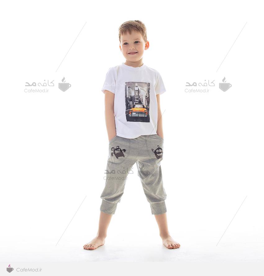 مدل تیشرت آستین کوتاه پسرانه