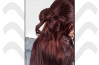 آموزش بافت موی پاپیونی