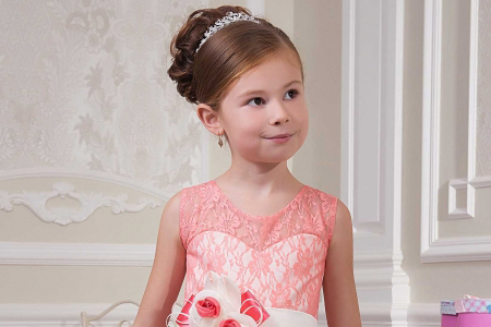 مدل لباس توری دخترانه jeorjett 10