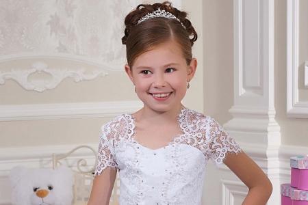 مدل لباس عروس دخترانه jeorjett 10