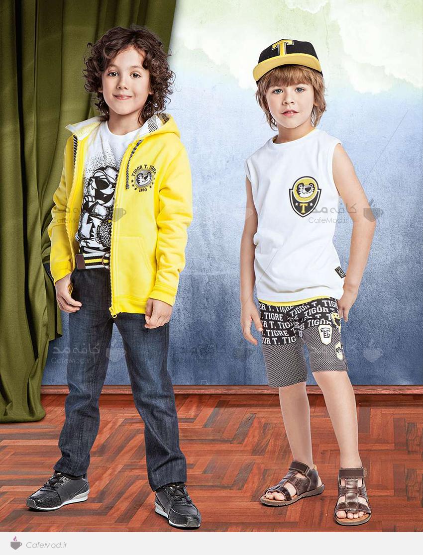 مدل لباس پسرانه۲۰۱۵ tigor t.tigre