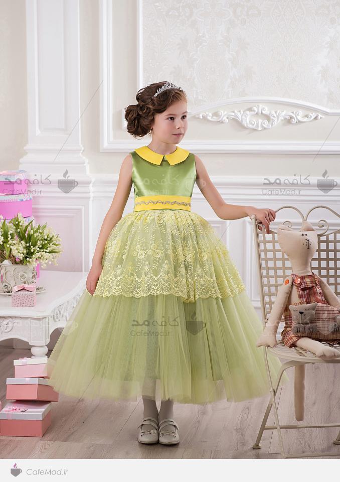 مدل لباس مجلسی دخترانه jeorjett