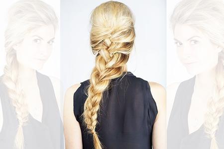 آموزش بافت موی بلند 2