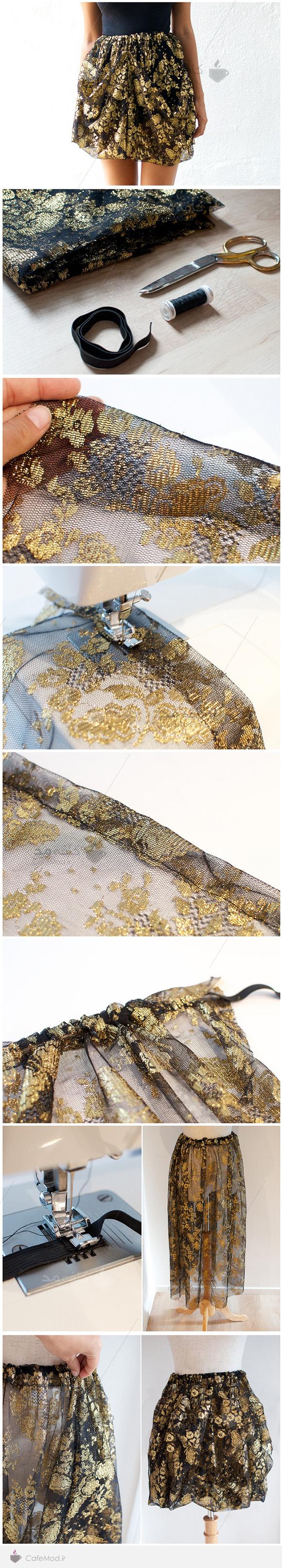 آموزش دوخت دامن Dolce&Gabbana