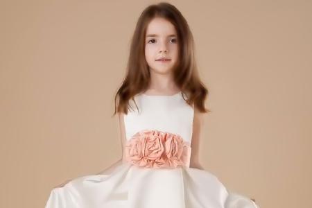 مدل لباس عروس دخترانه 2015 1