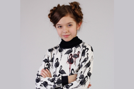 مدل بلوز آستین دار دخترانه 10
