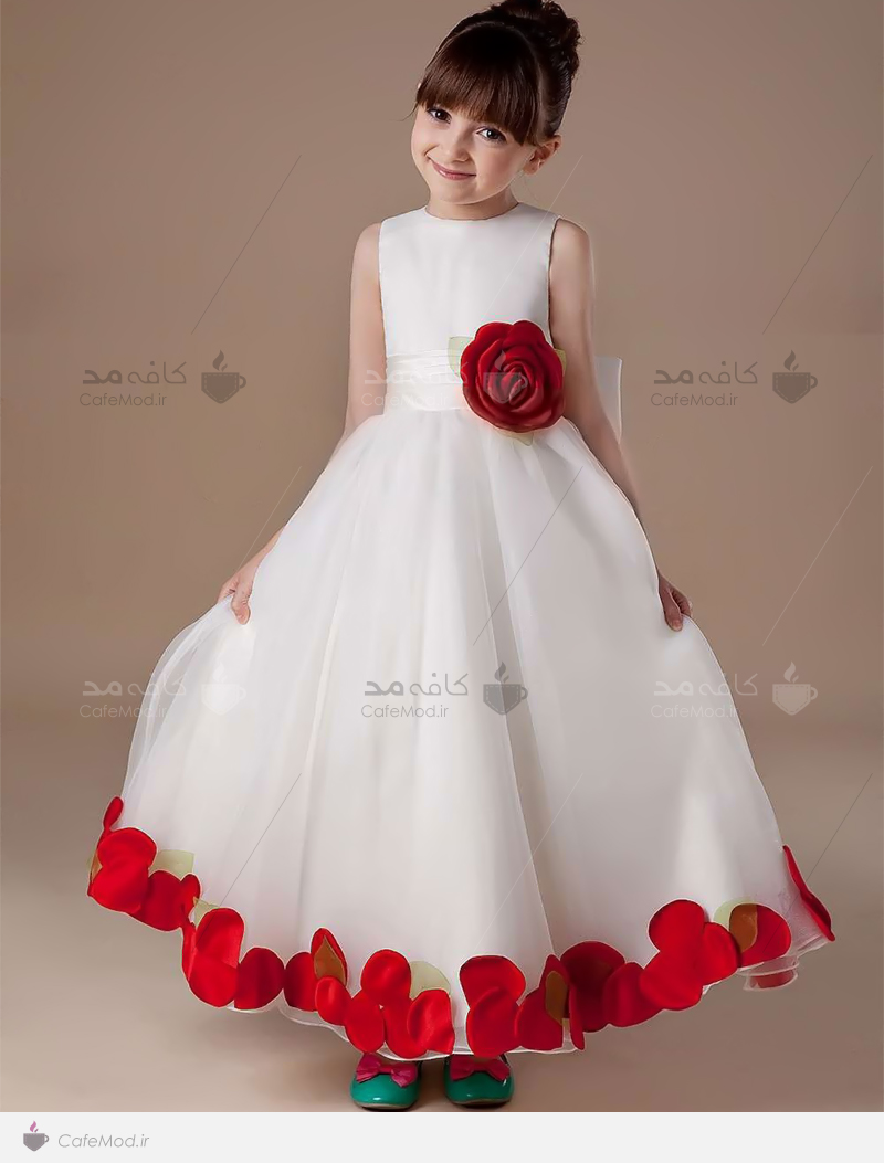 مدل لباس عروس دخترانه 2015