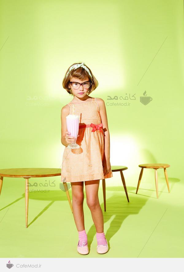 مدل لباس دخترانه بهاره و تابستانه