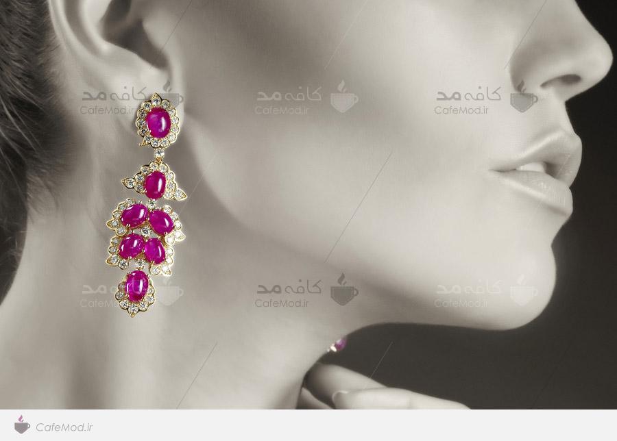 مدل گوشواره جواهر جدید