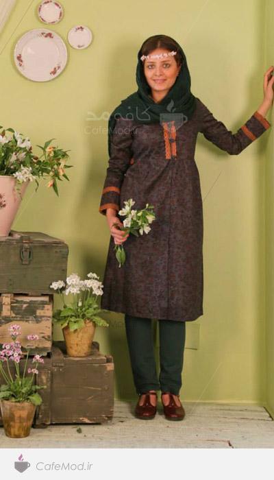 مدل مانتو ایرانی انارگل