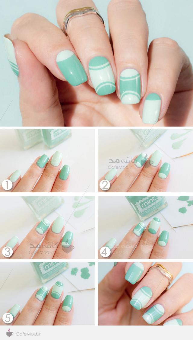 آموزش آرایش روی ناخن