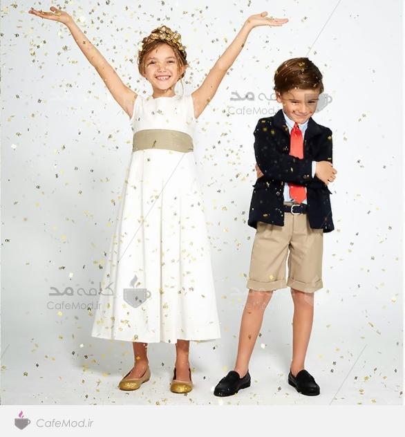مدل لباس دخترانه و پسرانه Neck and Neck