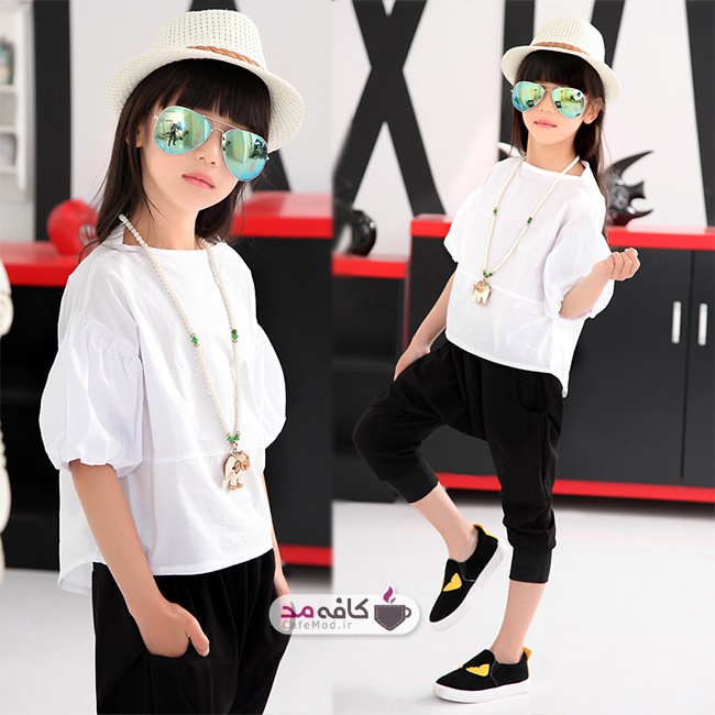 مدل لباس دخترانه COCO