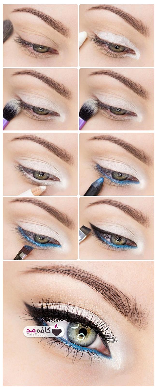 آموزش آرایش چشم