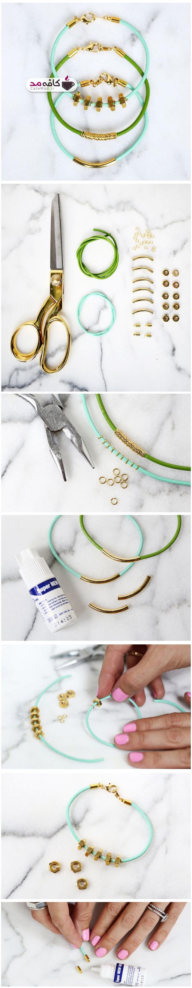 آموزش ساخت دستبند کشی ساده