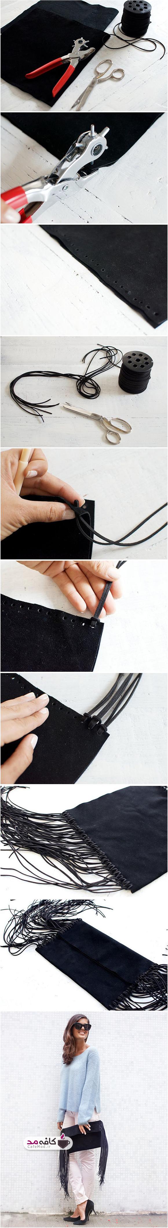 آموزش درست کردن کیف دستی چرمی