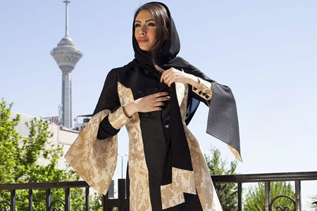 مدل مانتو ایران زمین  10