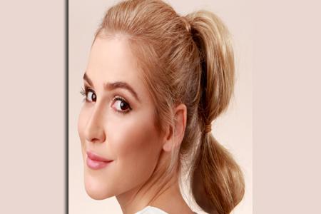 آموزش آرایش موجی دم اسبی 2