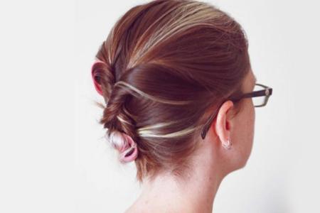 آموزش جمع کردن موها 2