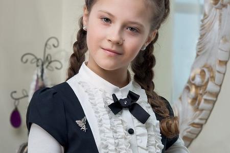 مدل لباس رسمی دخترانه 10