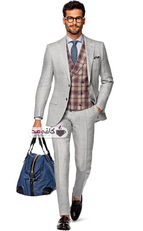 مدل کت و شلوار جدید مردانه