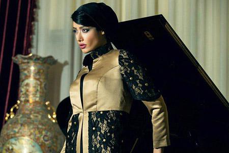 مدل مانتو ایرانی ریتون  11