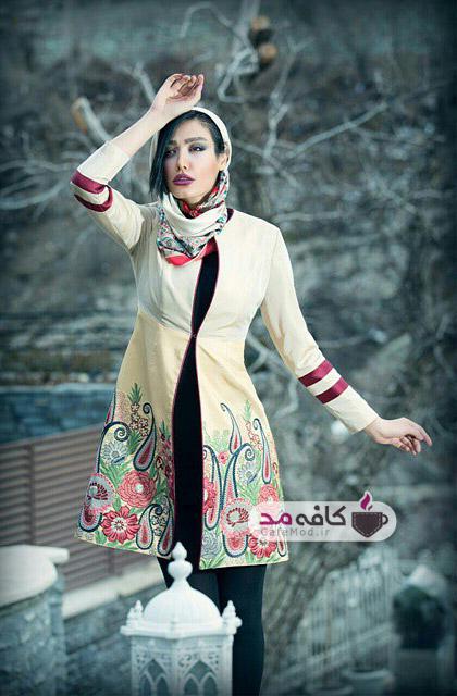 مدل مانتو ایرانی ریتون