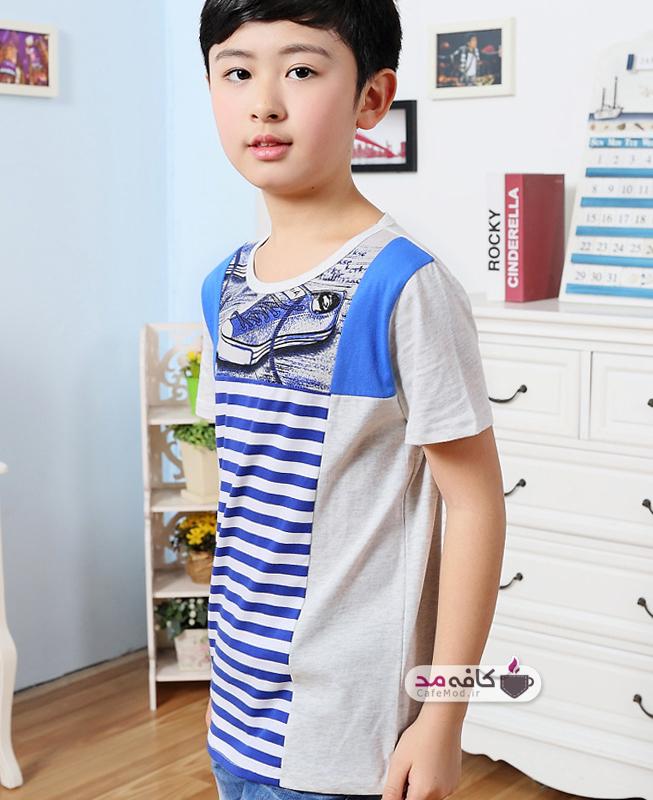 مدل تیشرت پسرانه