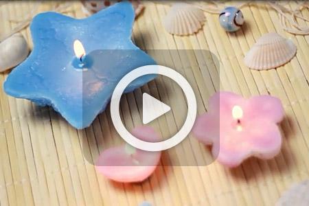 مدل شمع شنی