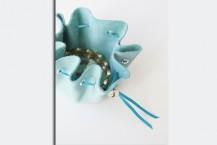 آموزش کیسه جواهرات چرمی