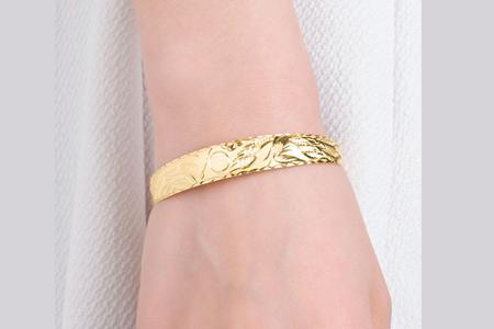 مدل دستبند طلا Dongxiang 9