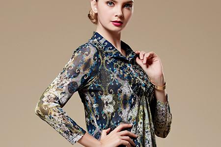 مدل بلوز حریر Stylewoman 2