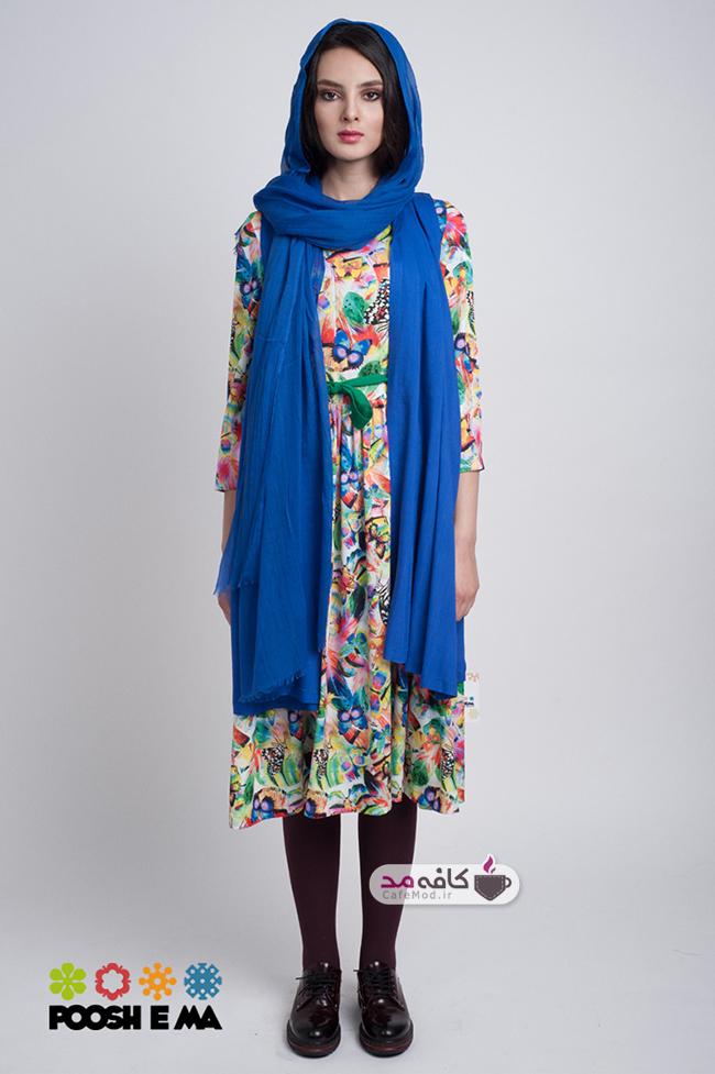 مدل مانتو ایرانی برند پوش ما