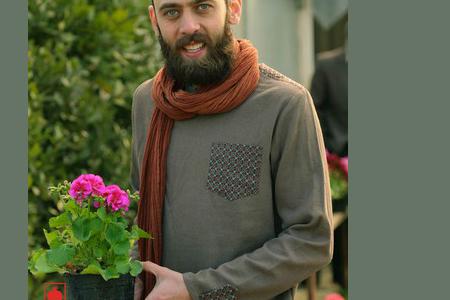 مدل لباس سنتی مردانه انارگل 2