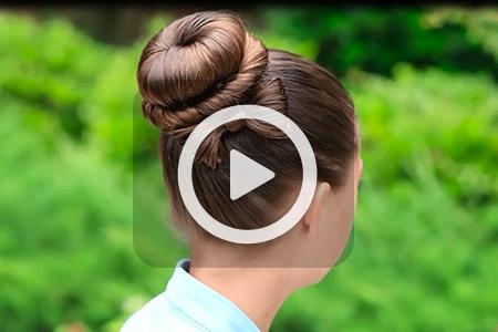 آموزش مدل مو گوجه ای