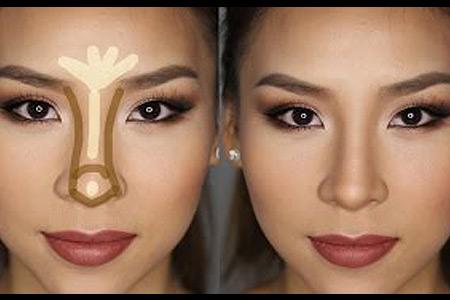 آموزش نحوه آرایش بینی
