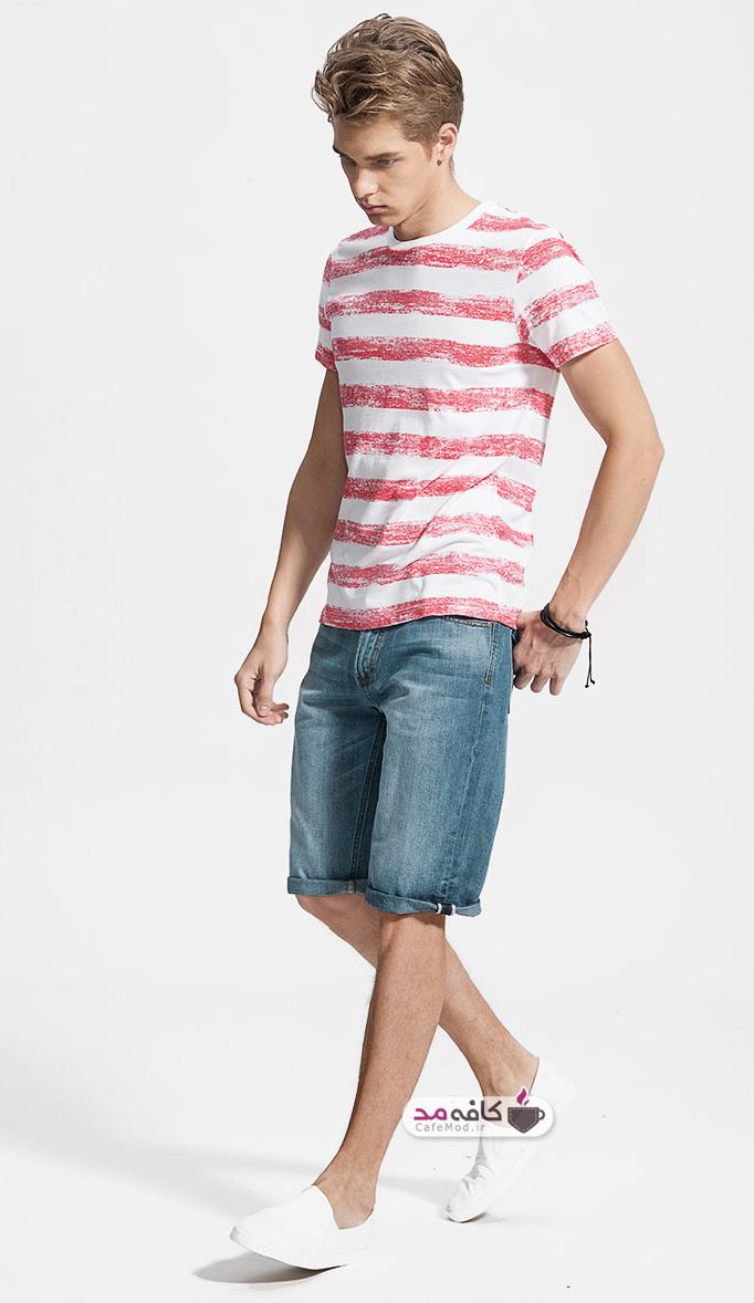مدل شلوار و شلوارک جین مردانه