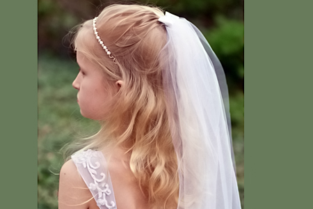آموزش دوخت تور عروس 2