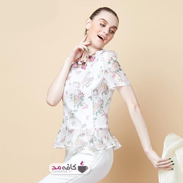 مدل بلوز زنانه Camel